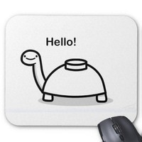 Mine Turtle Mouse Pad from Zazzle.com