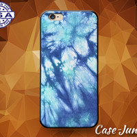 Tie Dye Blue Hippy Hippie Tumblr Inspired Cute Custom Case For and iPhone 5/5s/5c and iPhone 6 and 6+, iPhone 6s, iPhone 6s Plus iPhone SE