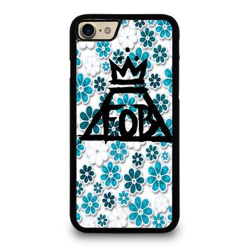 FALL OUT BOY FLORAL iPhone 7 Case Cover