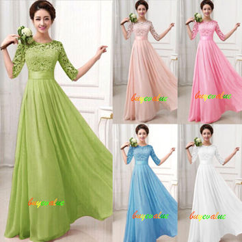 2016 Cute  Lace graceful  and New style dress prom/evening/bridemaid/party/dress! Young and Cute!