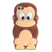Cartoon Monkey Pattern Case for iPhone 5