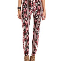 Brushed Tribal Cotton Legging: Charlotte Russe