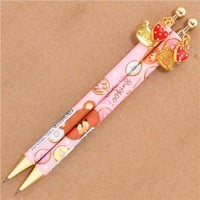 pink bears and donuts mechanical pencil from Japan - Pens-Pencils - Stationery