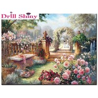 5D Diamond Painting Walk in the Garden Kit
