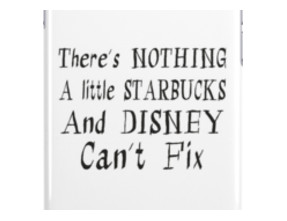 Starbucks and Disney Fix iPhone Cases & Skins
