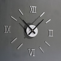 DIY Metal Wall Clock w/ Roman Numerals