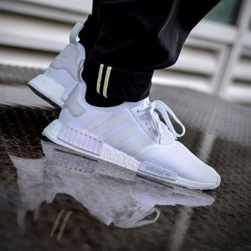 Adidas NMD R1 'All White'