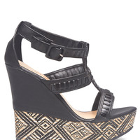 Woven Tribal Wedges | Wet Seal
