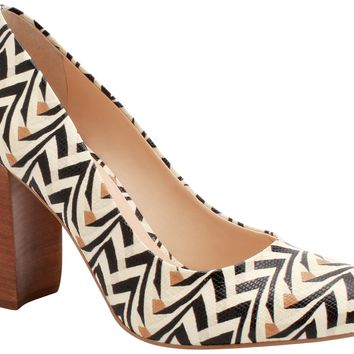 Scarpin Block Heel Tribal - Stephanie