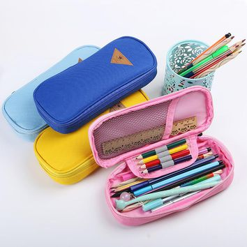 Multipurpose Canvas Pencil Case