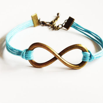 Infinity Bracelet, Inifnity Charm Bracelet, Friendship Bracelet, Gifts For Girls Bracelet, Good Karma Bracelet, Best Friend Gift