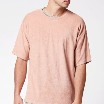 PacSun Plush Terry Relaxed T-Shirt at PacSun.com