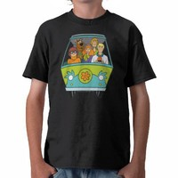 Scooby Doo Pose 71 Shirt from Zazzle.com