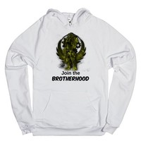 Fallout BoS Power Armour and logo artwork | Hoodie | SKREENED