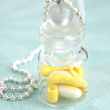 bananas in a jar necklace