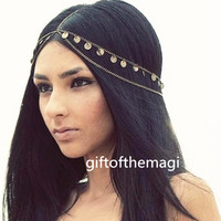 new Head chain,headdress chain,hair chain, head piece,hair accessory,headband,girl women lady chain,head jewelry,1TS-0010