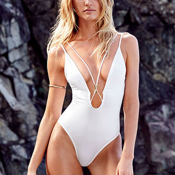 Double-strap Plunge One-piece - Very Sexy - Victoria's Secret