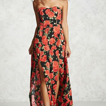 Contemporary Rose Print Dress