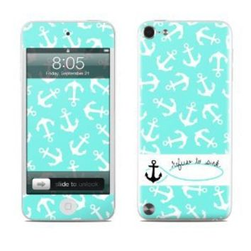 Refuse to Sink Design Protective Decal Skin Sticker for Apple iPod Touch 5G (5th Gen) MP3 Player