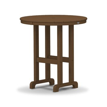 "Trex Outdoor Furniture Monterey Bay Round 36"" Counter Table"