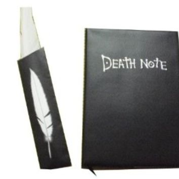 Qiyun Death Note Notebook Notebooks With feather Pen KTWJ283