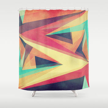 Directions Shower Curtain by VessDSign