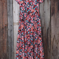 Cupshe For the Roses Floral Maxi Dress