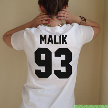 Malik 93 T Shirt Unisex White Black Grey S M L XL Tumblr Instagram Blogger