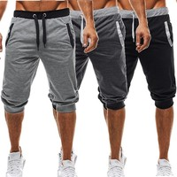 Mens Summer Muscle Harem Joggers