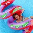 Curly Serpent Pool Float- Assorted One