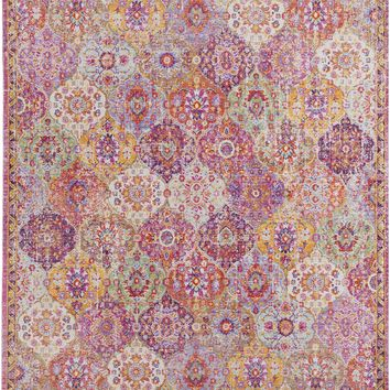 Surya Antioch Transitional Pink AIC-2316 Area Rug