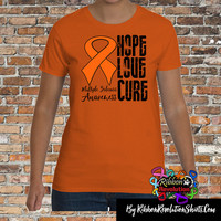 Multiple Sclerosis Hope Love Cure Shirts