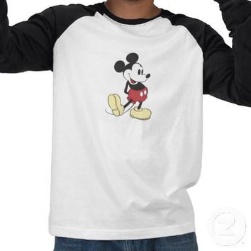 Classic Mickey Mouse Tee Shirts from Zazzle.com