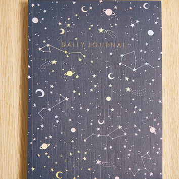 Constellation Daily Journal | Urban Outfitters
