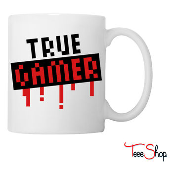 True Gamer Stamp Coffee & Tea Mug