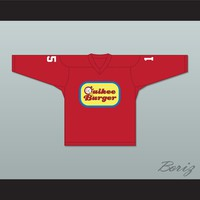 Tommy Songin 15 Quikee Burger Hockey Jersey Stuck on You