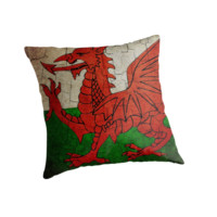 Grunge Wales flag by steveball