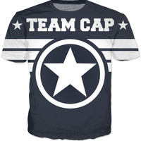 Team Cap 2 Civil War T-Shirt