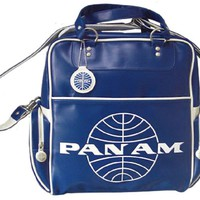 Pan Am Originals Luggage - 70s Original Travel Bag. With Pan Am Airlines Classic Logo