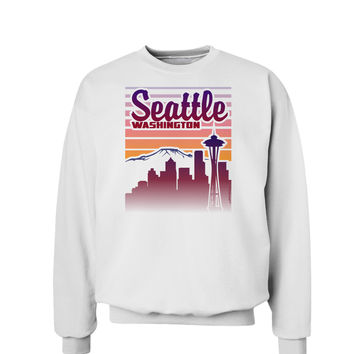Seattle Washington Sunset Sweatshirt