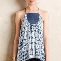 Anza Tank by one.september Blue Motif