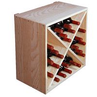 X-Bin - Cube Wine Rack - 24 Bottles