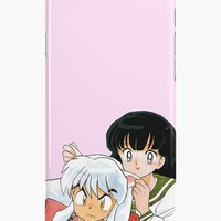 'Inuyasha & Kagame - Type A' iPhone Case by Obtineo