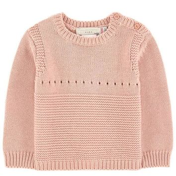 NOV9O2 Stella McCartney Baby Girls Cashmere/Cotton Bunny Sweater