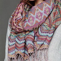 Woven Stitch Scarf at Free People Clothing Boutique