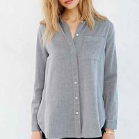 BDG Herringbone Button-Down