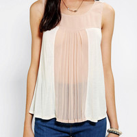 Urban Outfitters - Cooperative Colorblock Poppy Tank Top