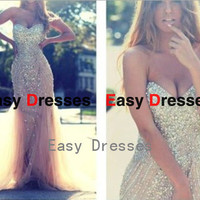 Sweetheart dress ,sexy dress Prom dress Bridesmaid dress Fashion dress Party Evening Dresses 2014