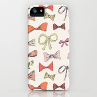 Bows iPhone & iPod Case by Leah Reena Goren