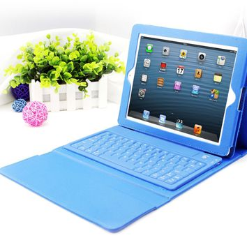 Apple iPad Air 2 Case - Wireless Bluetooth Keyboard Cover Case for iPad 2/3/4 15970